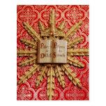 Decoraciones de la iglesia católica postal