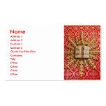 Decoraciones de la iglesia católica tarjetas de visita