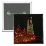 Decoraciones del navidad en la alameda del Washing Pins