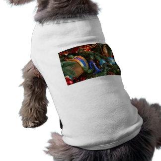 decoraciones del navidad camisa de perrito