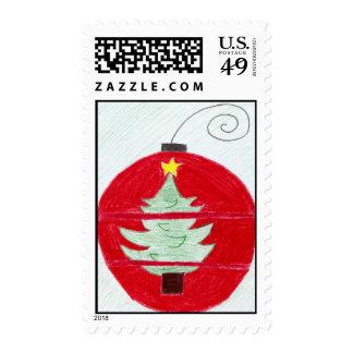 Decoraciones del navidad sellos