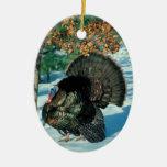 Decoraciones salvajes del día de fiesta de la foto ornamento para arbol de navidad