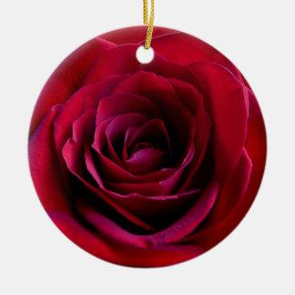 Decoraciones subiós personalizadas ornamento del adorno navideño redondo de cerámica