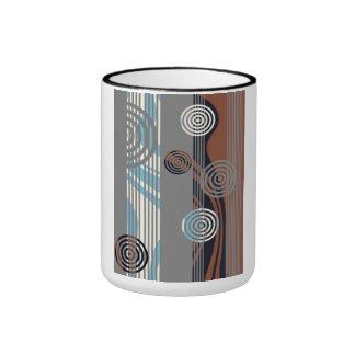 Decorado arte decoración taza de dos colores
