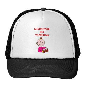 decorador de interiores gorras