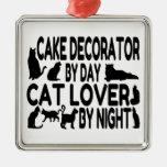 Decorador de la torta del amante del gato adorno