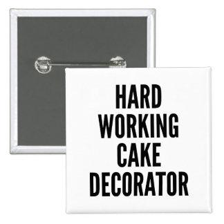 Decorador de trabajo duro de la torta pin