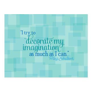 Decorate My Imagination Postcard