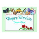 Decorate the Cake 5x7 Paper Invitation Card