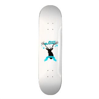 Decorate to you to deer, Merry Christmas Skateboard Deck