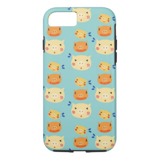 Decorate Your Phone with Cute Pig Head Pattern iPhone 8/7 Case