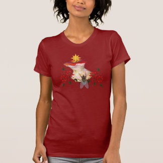 Decorated Apple Core T-Shirt