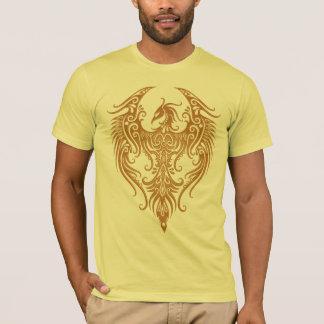 Decorated Brown Tribal Phoenix T-Shirt