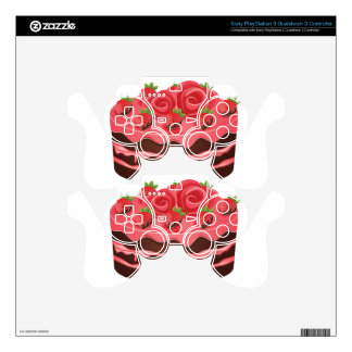 Decorated Chocolate Cake PS3 Controller Skins