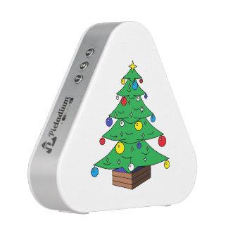 Decorated Christmas tree cartoon Bluetooth Speaker