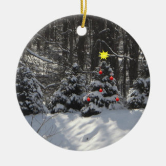 Decorated Christmas Tree Ornament