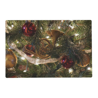 Decorated Christmas Tree Placemat