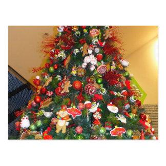 Decorated Christmas Tree Postcard