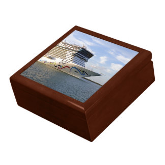 Decorated Cruise Ship Bow Gift Box