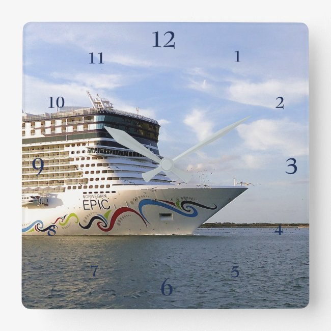 Decorated Cruise Ship Bow