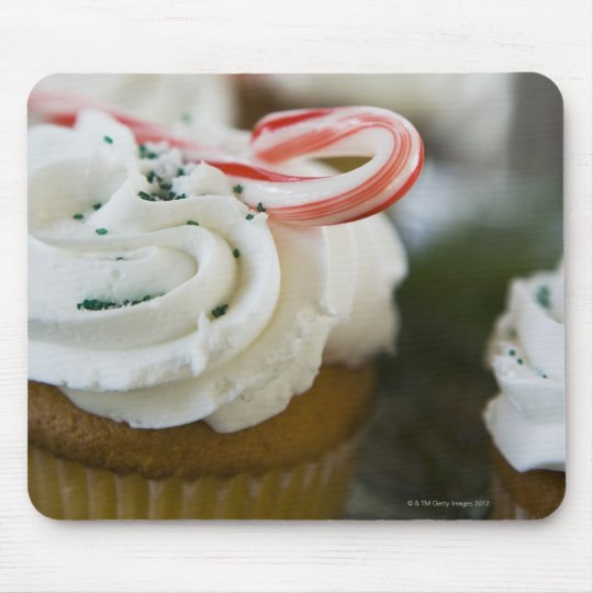 Decorated cupcakes mouse pad