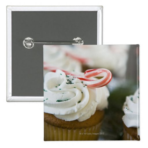 Decorated cupcakes pins