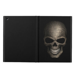 Decorated Dark Skull Cover For iPad Air