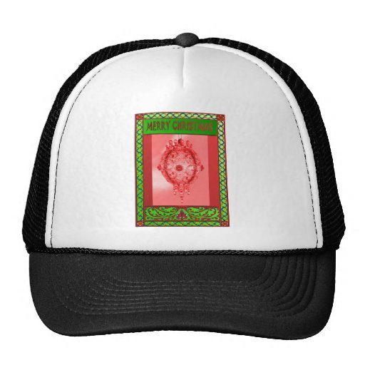 Decorated for Christmas Mesh Hats