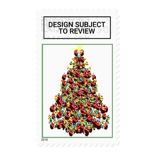 Usps Christmas Eve.Decorated Holiday Tree Usps Christmas Stamps 2017