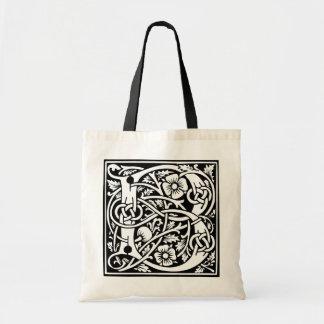 Decorated Initial B Bag