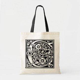 Decorated Initial C Bag