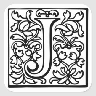 Fancy Letter J Designs Pink
