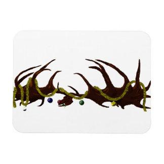 Decorated Megaloceros Skull Flexi Magnet