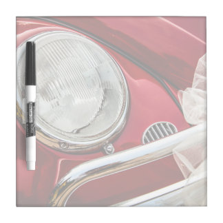 Decorated red Car Dry-Erase Whiteboard