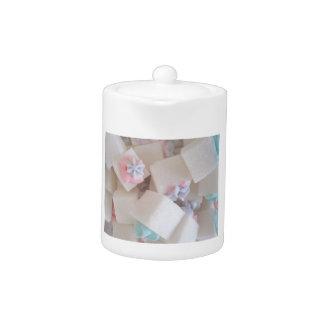 Decorated Sugar Cubes Teapot