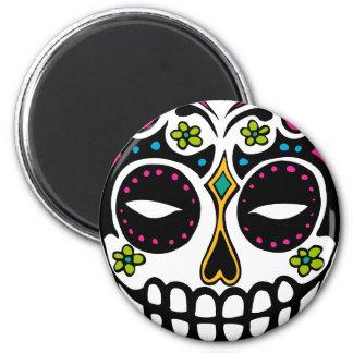 Decorated Sugar Skull Magnet