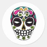Decorated Sugar Skull Stickers