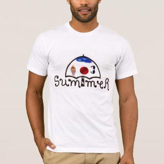 Decorated Summer Umbrella T shirt