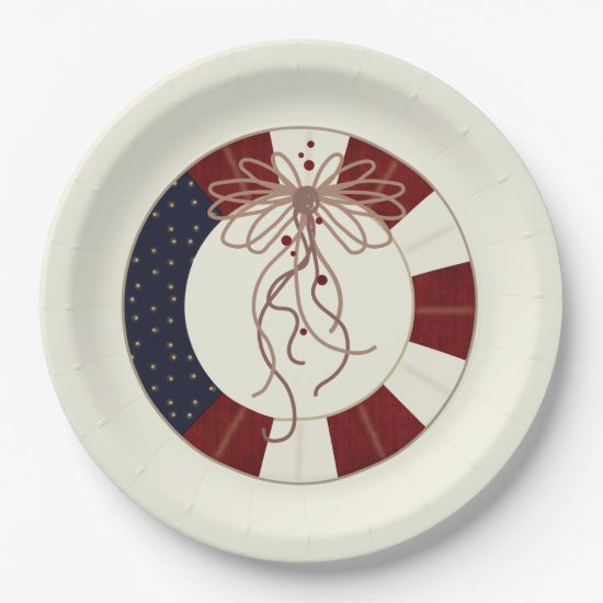 Decorated To Celebrate July 4th Party Paper Plates