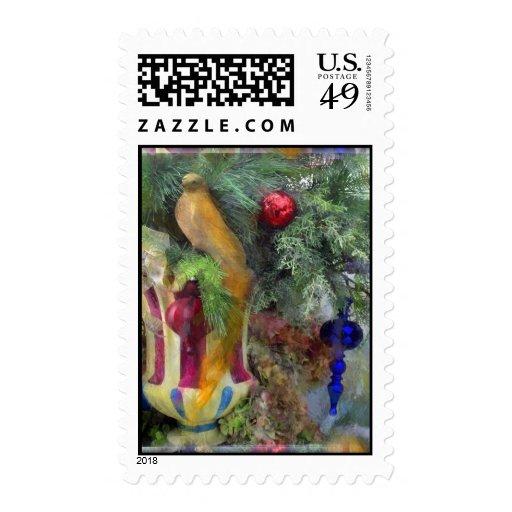 Decorated tree - Custom postage