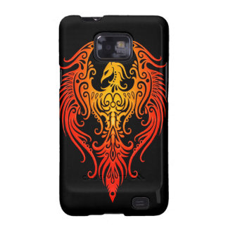 Decorated Tribal Phoenix Galaxy S2 Cases