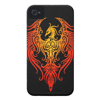 Decorated Tribal Phoenix Case-Mate iPhone 4 Cases