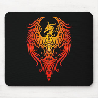 Decorated Tribal Phoenix Mousepads