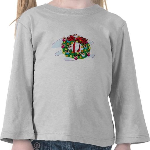 Decorated Wreath Shirt