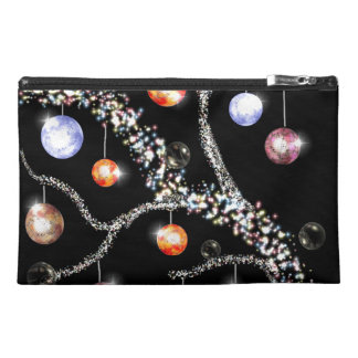 Decorated Yule Branch Travel Accessory Bag