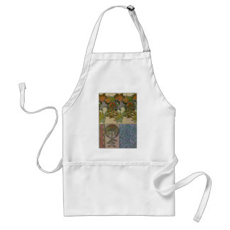 Decoratifs 1901 Alfons Mucha - Art Nouveau Adult Apron