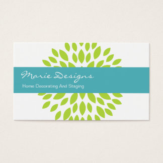 Decorating Business Cards