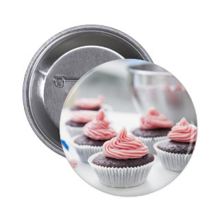 Decorating Cupcakes Button