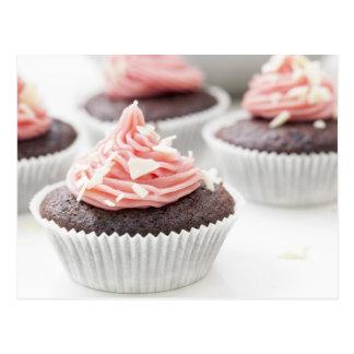 Decorating Cupcakes Postcard