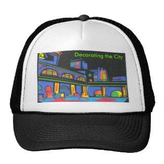 Decorating the City Trucker Hat